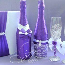 Свадебные бутылки