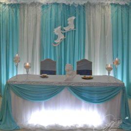 Свадьба «Свидание на льду» в кафе Славянка