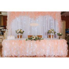 Оформление свадьбы в ресторане «Барин»