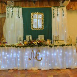Оформление свадьбы в Околице