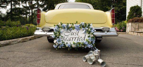 Украшения на машину на свадьбу во Владимире