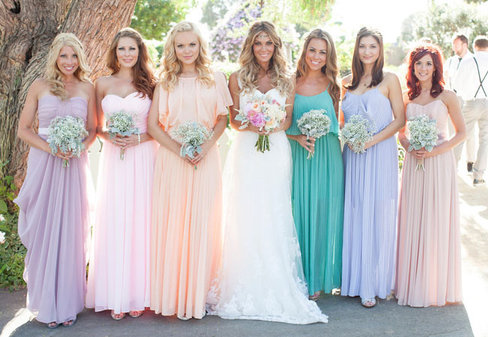модные цвета свадьбы 2016