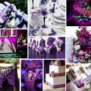 oformlenie-svadby-v-fioletovom-cvete-foto